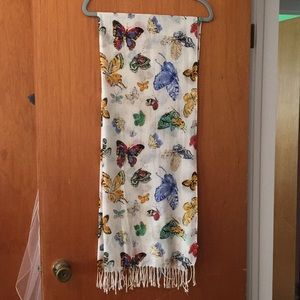 Old Navy Butterfly Scarf